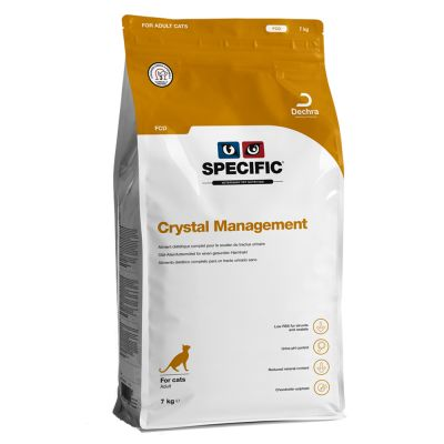Specific FCD Crystal Management pour chat