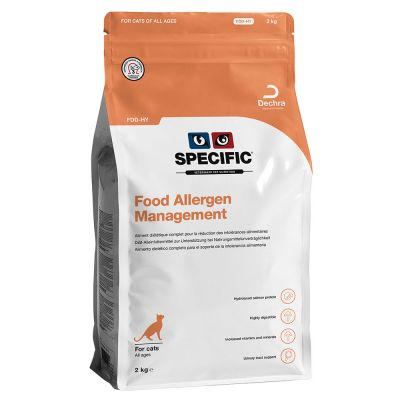 Specific FDD-HY Food Allergen Management pour chat