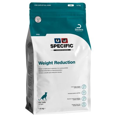 Specific FRD Weight Reduction pour chat