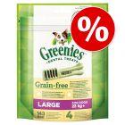 SÆRPRIS! 170 g Greenies Tandpleje Tyggesnacks Grainfree