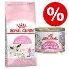 SÆRPRIS! 10 kg Royal Canin tørfoder + 12 x 85 g / 195 g vådfoder