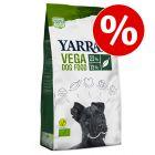 SÆRPRIS! 10/15 kg Yarrah Øko hundetørfoder