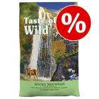 Säästä 3 euroa: 6,6 kg Taste of the Wild -kissanruokaa!