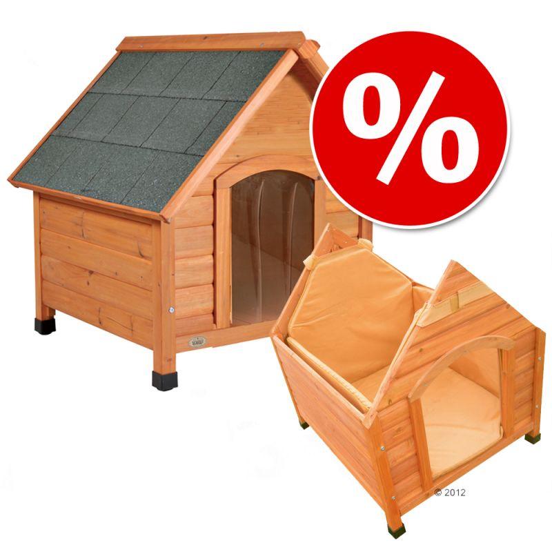 Säästöpaketti: Trixie Natura -koirankoppi + eriste
