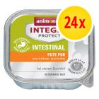 Säästöpakkaus: Animonda Integra Protect Adult Intestinal -rasiat 24 x 100 g