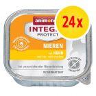 Säästöpakkaus: Animonda Integra Protect Adult Renal -rasiat 24 x 100 g