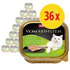 Säästöpakkaus: Animonda vom Feinsten Adult herkkutäytteellä 36 x 100 g