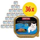 Säästöpakkaus: Animonda vom Feinsten Adult No Grain in Sauce 36 x 100 g