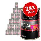 Säästöpakkaus Belcando Single Protein 24 x 400 g