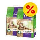 Säästöpakkaus: Cat's Best Nature Gold -puupelletti
