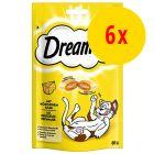Säästöpakkaus: Dreamies, juusto