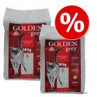 Säästöpakkaus: Golden-kissanhiekka 2 x 14 kg