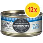 Säästöpakkaus: Greenwoods Adult  12 x 70 g