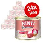 Säästöpakkaus: RINTI Sensible 24 x 185 g