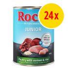 Säästöpakkaus: Rocco Junior 24 x 400 g