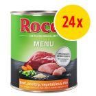 Säästöpakkaus: Rocco Menue 24 x 800 g