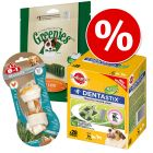 Säästöpakkaus: Topseller-hammashoitoherkut, koko M/L