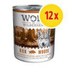 Säästöpakkaus: Wolf of Wilderness Adult 12 x 800 g