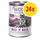 Säästöpakkaus Wolf of Wilderness Senior 24 x 400 g