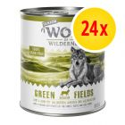 Säästöpakkaus Wolf of Wilderness Senior 24 x 800 g