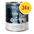 "Säästöpakkaus: Wolf of Wilderness ""The Taste Of"" 24 x 800 g"
