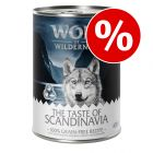 "Säästöpakkaus: Wolf of Wilderness ""The Taste Of"" 24 x 400 g"