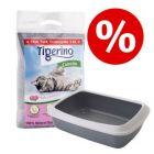 Startovací set pro koťata: kočkolit Tigerino Canada + toaleta Savic + lopatka