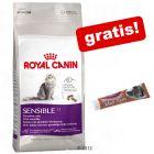 Stor pose Royal Canin + Smilla Maltpostei  gratis!