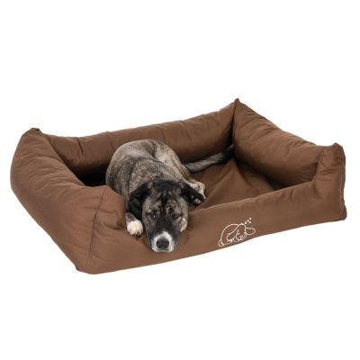 Strong & Soft Dog Bed - Brown
