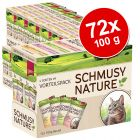 Super - Sparpaket: Schmusy Nature Mix 72 x 100 g