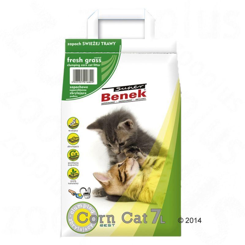 Super Benek Corn Cat Fresh Grass