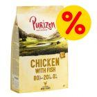 Super offerta! 1 kg Purizon NUOVA RICETTA - senza cereali