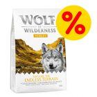 "Super offerta! 1 kg Wolf of Wilderness ""Xplore"" Crocchette per cani"