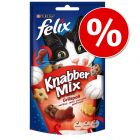 Super-Sparpaket: 25 x 60 g Felix KnabberMix
