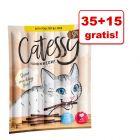 35 + 15 szt. gratis! Catessy Sticks, 5 x 10 sztuk