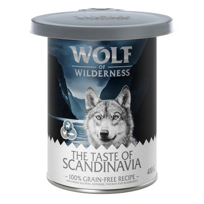 Tampa de silicone para latas Wolf of Wilderness