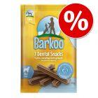 10% taniej! Barkoo Dental Snacks, 112 szt.
