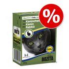 10% taniej! Bozita, karma mokra dla kota, 6 x 370 g