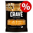20% taniej! Crave Adult karma sucha dla kota, 750 g