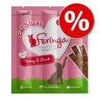 25% taniej! Megapakiet: Feringa Sticks, przysmak dla kota, 36 x 6 g