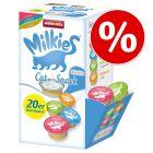 10% taniej! Pakiet mieszany Animonda Milkies Selection, 40 x 15 g