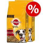 33% taniej! Pedigree, karma dla psa, 2 x 15 / 13 kg
