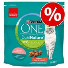 30% taniej! Purina ONE Dual Nature, 1,4 kg