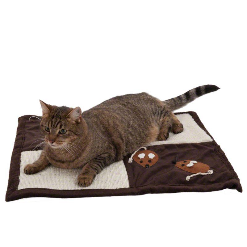 Tapis à griffer Patchwork pour chat