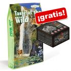 Taste of the Wild 6,6 kg pienso para gatos + snacks Alpha Spirit ¡gratis!