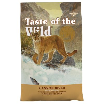Taste of the Wild - Canyon River Feline - spannmålsfritt