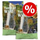 Taste of the Wild gazdaságos csomag 2 x 7 kg / 2 x 6,6 kg