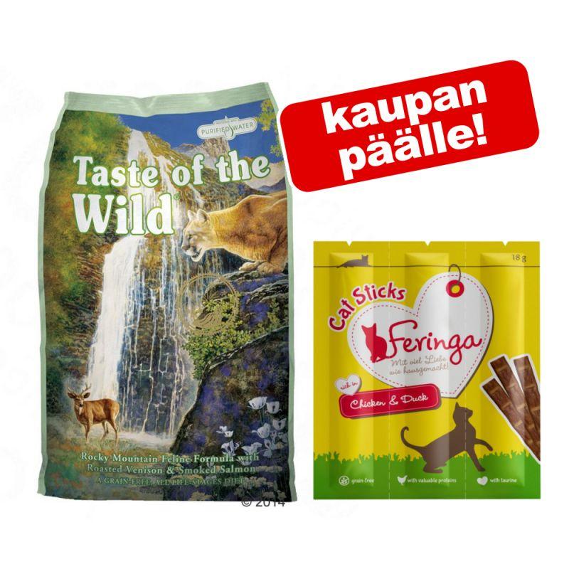Taste of the Wild 7 kg + Feringa herkut kaupan päälle!