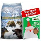 Taste of the Wild 12.2 kg + koiranherkut 50 g kaupan päälle!