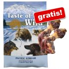 Taste of the Wild 12,2 kg + 2 oase cu șuncă gratis!